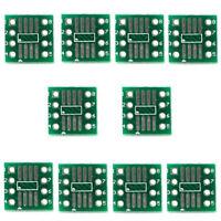 50x SMD Adapterplatine SOIC MSOP SOP SO SSOP TSSOP 8 Kontakte 1.27mm und 0.65mm