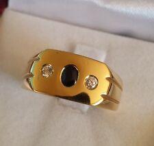 ANELLO UOMO oro giallo  oro 750/000  18KT  Gr. 9.50
