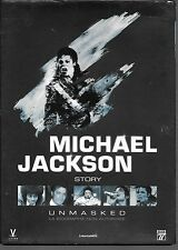 DVD ZONE 2--DOCUMENTAIRE--MICHAEL JACKSON STORY - UNMASKED BIOGRAPHIE