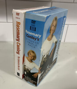 Exercise, Salsacise Triple Weight Loss Older Box Set of 5 DVDs. Rosemary Conley