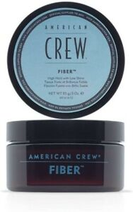 American Crew FIBER High Hold Low Shine 85g/3ozBest Deal.UK seller fast dispatch