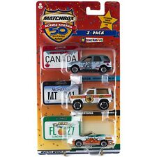 Matchbox Across America 3 Pack Canada Montana Florida Toys R Us Exclusive 50th