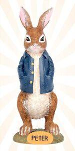 "Peter Rabbit Easter 7"" Blue Jacket LIMITED EDITION Figurine"