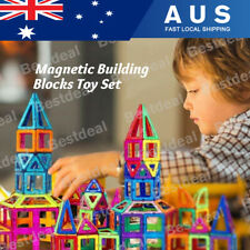 100pcs Magnetic Building Blocks Set 3D Tiles DIY Toys Gift Kids Educational