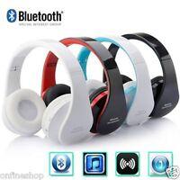 Bluetooth Wireless Foldable Headset Stereo Headphone Earphone For iPhone Samsung