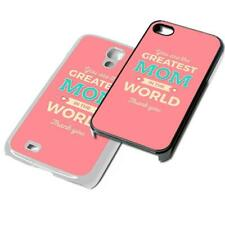 Greatest MOM Phone case for iPhone iPod Samsung 4 5 6 7 8 X XR 5th 6th 7th case