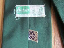 VINTAGE BOY SCOUT Associazione Scout interesse Cravatta da Bukta made in GT Britain