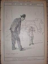 Policeman and lost mother 1903 Charles Pears print