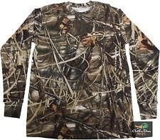d4cdca64aa9 Drake Waterfowl LS Long Sleeve Layering Tee T-shirt Max 4 Camo Small S