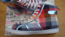 brand new womens Ice Plaid Pastry CANDY RUSH mid trainers UK size 6