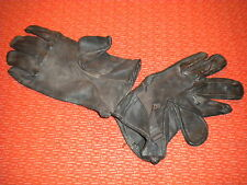 U.S.ARMY:LEATHER GLOVES,M-1949 Vietnam Korea Special Forces Delta Force size 4