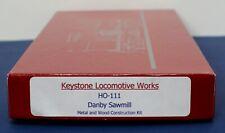 Keystone Loco Works HO-111 Danby Sawmill Craftsman kit NIB