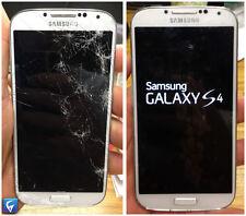 Samsung Galaxy S4 Cracked Glass Repair Service - LOCA GLUE - PRIORITY RETURN!!!!