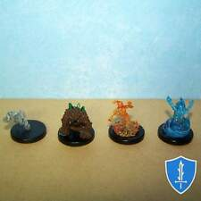 Small Elemental x4 - Lost Coast Pathfinder Battles D&D Fire Water Earth Air