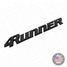 99-02 Black 4Runner Liftgate Nameplate Emblem Badge Logo Tailgate Rear Letter