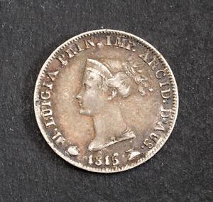 1815, Parma (Duchy), Marie Louise of Austria. Beautiful Silver 5 Soldi Coin. XF-