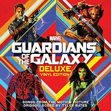 Guardians of the Galaxy [Songs and Original Score] [LP] by Tyler Bates (Vinyl, Sep-2014, Hollywood)