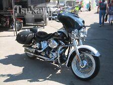 Tsukayu Batwing Classic Fairing For Harley FLSTN/ FLSTNI Softail Deluxe (Black)