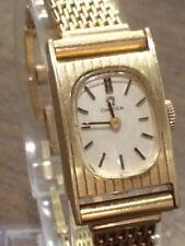 Vintage Ladies Omega 14K Solid Gold Wristwatch Caliber 484