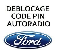 Recuperation deblocage Code pin pour autoradio Ford max
