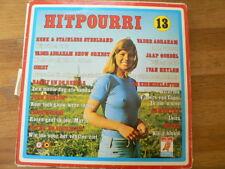LP RECORD VINYL PIN-UP GIRL HITPOURRI 13 NEDERLANDS TALIG DURECO