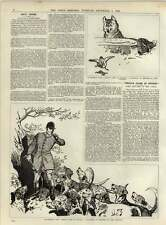 1891 Miss Florence St John Divorce Suit Remarkable Evidence 12 Packs Of Hounds