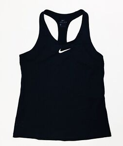 Nike Pro Cool All Over Mesh Tight Fit Tank Women's Small 897827 Black
