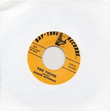 EUGENE JEFFERSON   TOO YOUNG / I WON'T CRY NO MORE   BAY-TONE RI/Re-Pro  R&B/MOD