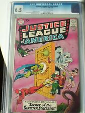 Justice League of America #2 CGC 6.5 //cream to off white pages