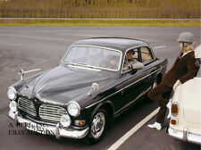 Volvo 123 GT P130 1967 model introduction press campaign photo – photograph