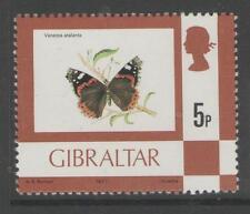 Gibraltar SG380 1977 5p definitivo estampillada sin montar o nunca montada