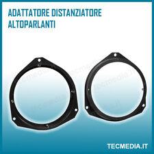 Anelli Adattatori Altoparlanti Casse Anteriori 165mm FIAT 500 2007 2017