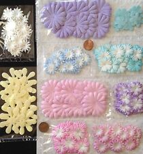 170 Flowers Lot Assortment Pastel petals flower Handmade mulberry paper Baby 7