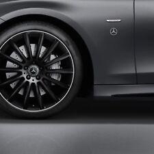 Adesivo specchietti logo Mercedes Benz AMG classe A B C sticker tuning CLA GLE S