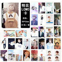 New 30pcs set Kpop Bangtan Boys V summer package Photo Poster Lomo Cards