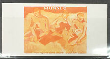 MONACO n° 1244 DERAIN PEINTURE ART non dentelé essai color proof TB **
