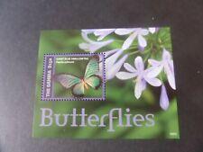 Gambia 2014 Butterflies Butterfly MS Miniature Sheet  UM MNH  unmounted mint