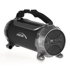 Tragbarer Bluethooth Bazooka Lautsprecher LED Soundstation Soundbox 100W AUX USB