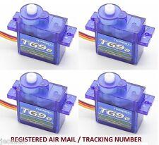 4x Turnigy TG9e Eco Micro Servo 1.5kg / 0.10sec / 9g for rc plane heli aircrafts