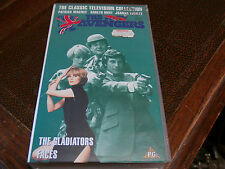 THE NEW AVENGERS VHS VIDEO TAPE FACES THE GLADIATORS