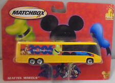 MJ7 Matchbox - 2006 Tour Bus - Yellow - Disneyland / Walt Disney World