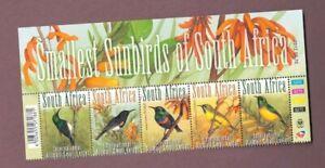 2012 South Africa Birds SG 1975/79 MS MUH