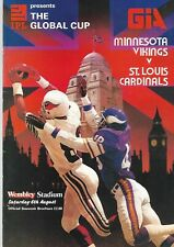 Minnesota Vikings v St Louis Cardinals 1st Ever NFL Game played Outside USA 1983