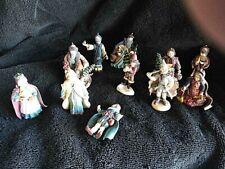 "Duncan Royale ""History Of Santa"" Series Ii Ltd Ed ornaments - Set Of 11"