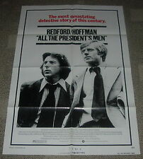 ALL THE PRESIDENT'S MEN  1976  ORIGINAL MOVIE POSTER  ONE SHEET  76/22