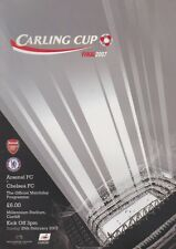 2007 CARLING CUP FINAL ARSENAL v CHELSEA MINT PROGRAMME LEAGUE CUP FINAL