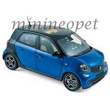 NOREV 183435 2015 SMART FORFOUR 1/18 DIECAST MODEL CAR BLUE