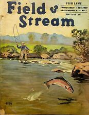 Vintage Field & Stream May 1945 Hunting Fishing Camping Sporting