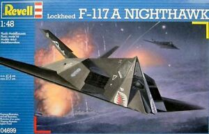 Revell 04699 Lockheed F117A Nighthawk 1/48 scale plastic model Aircraft kit