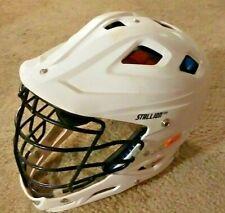 SCHUTT - White- STALLION 500 Lacrosse Helmet Size Large Nice
